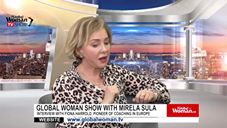 Global Woman Show with Mirela Sula – Interview with Luisa Zhou
