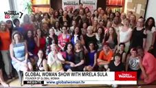 Global Woman Show with Mirela Sula – Interview with Special guests