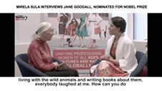 Global Woman Show with Mirela Sula – Interview with  Dr.Jane Goodall