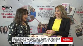Global Woman Show with Giovana Vega – Interview with Ana Weber