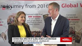 Global Woman Show with Giovana Vega – Interview with Keith Doyle