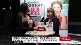 Global Woman Show with Karmin Meckael – Interview with Anna-Karin Horneij