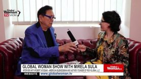 Global Woman Show with Mirela Sula's – Interview with Robert Kiyosaki