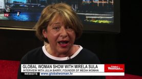 Global Woman Show with Mirela Sula – Interview with Julia Barry