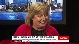 Global Woman Show with Mirela Sula – Interview with Anna-Karin Horneij