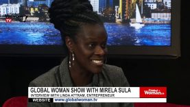 Global Woman Show with Mirela Sula – Interview with Linda Attram