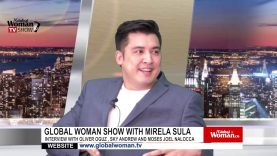 Global Woman Show with Mirela Sula – Interview with Oliver Oguz, Sky Andrew and Moses Joel Nalocca
