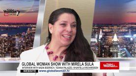 Global Woman Show with Mirela Sula – Interview with Tiziana Palazzo, Nadia Boersch and Shuntella Richardson