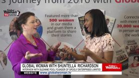 Global Woman Show with Shuntella Richardson – Interview with Suzanne Pool