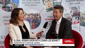 Global Woman Show with Connie Lee Bennet  – Interview with David Mc Gowan