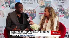 Global Woman Show with Ellen Bjerkehag – Interview with Sky Andrew