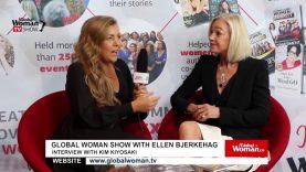 Global Woman Show with Ellen Bjerkehag – Interview with Kim Kiyosaki