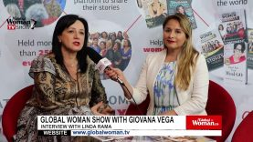Global Woman Show with Giovana Vega – Interview with Linda Rama
