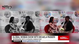 Global Woman Show with Micaela Passeri- Interview with  Nyasha Gwaditzo.