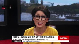 Global Woman Show with Mirela Sula – Interview with Christina Mascarreras And Chloe Bisson