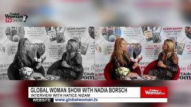 Global Woman Show with Nadia Boersch – Interview with Anita Haradinaj