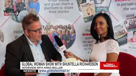 Global Woman Show with Shuntella Richardson – Interview with Sabina Rantin